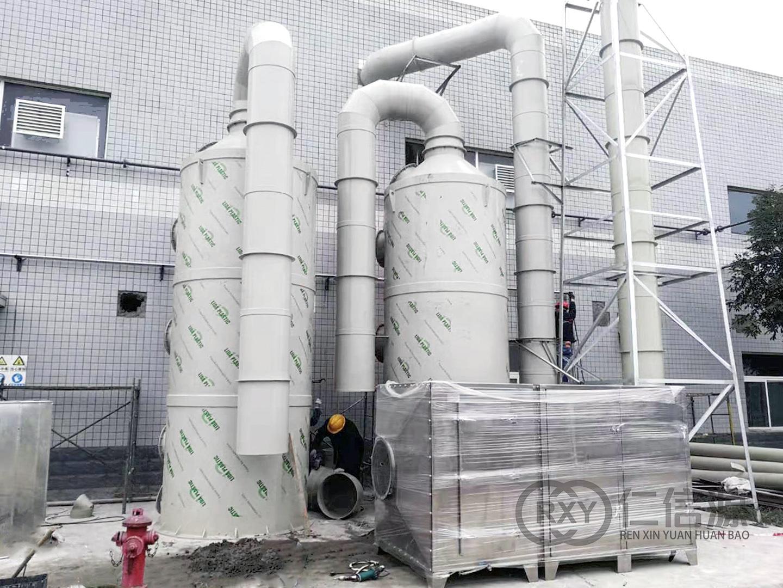 盐酸治理喷淋系统安装