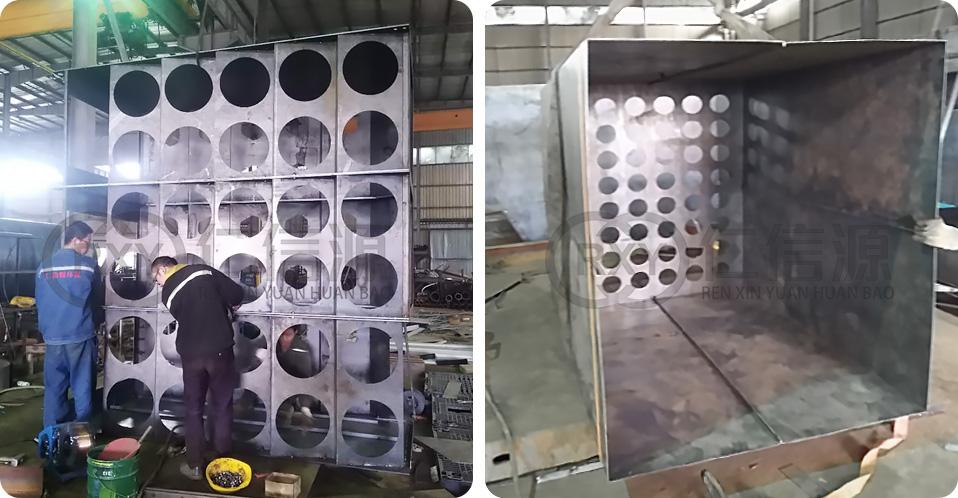 焊接除尘器箱体加厚优质碳钢
