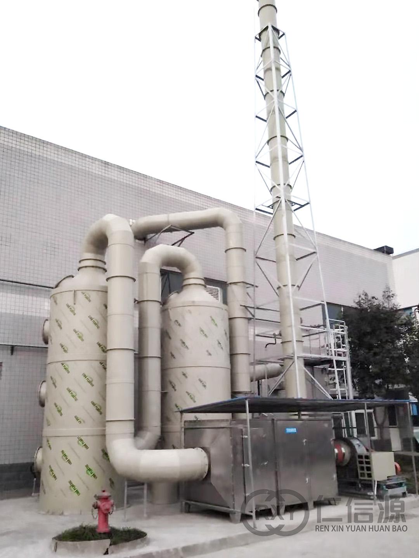 酸雾塔+活性炭吸附箱