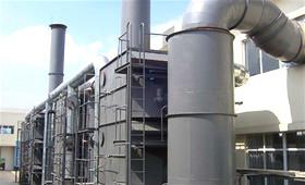 沸石濃縮轉輪焚化系統