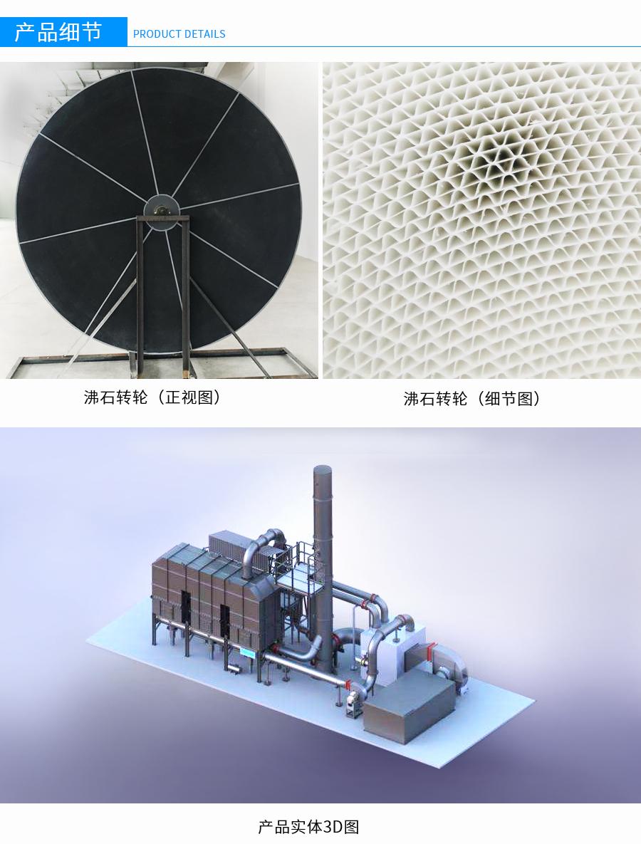沸石转轮吸附,沸石转轮浓缩装置