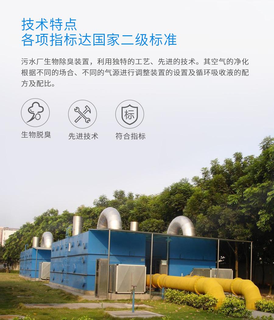 生物有机废气治理,生物法废气处理