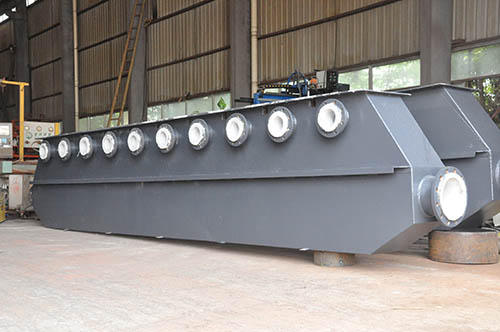 钢衬塑电解槽(定制设计)