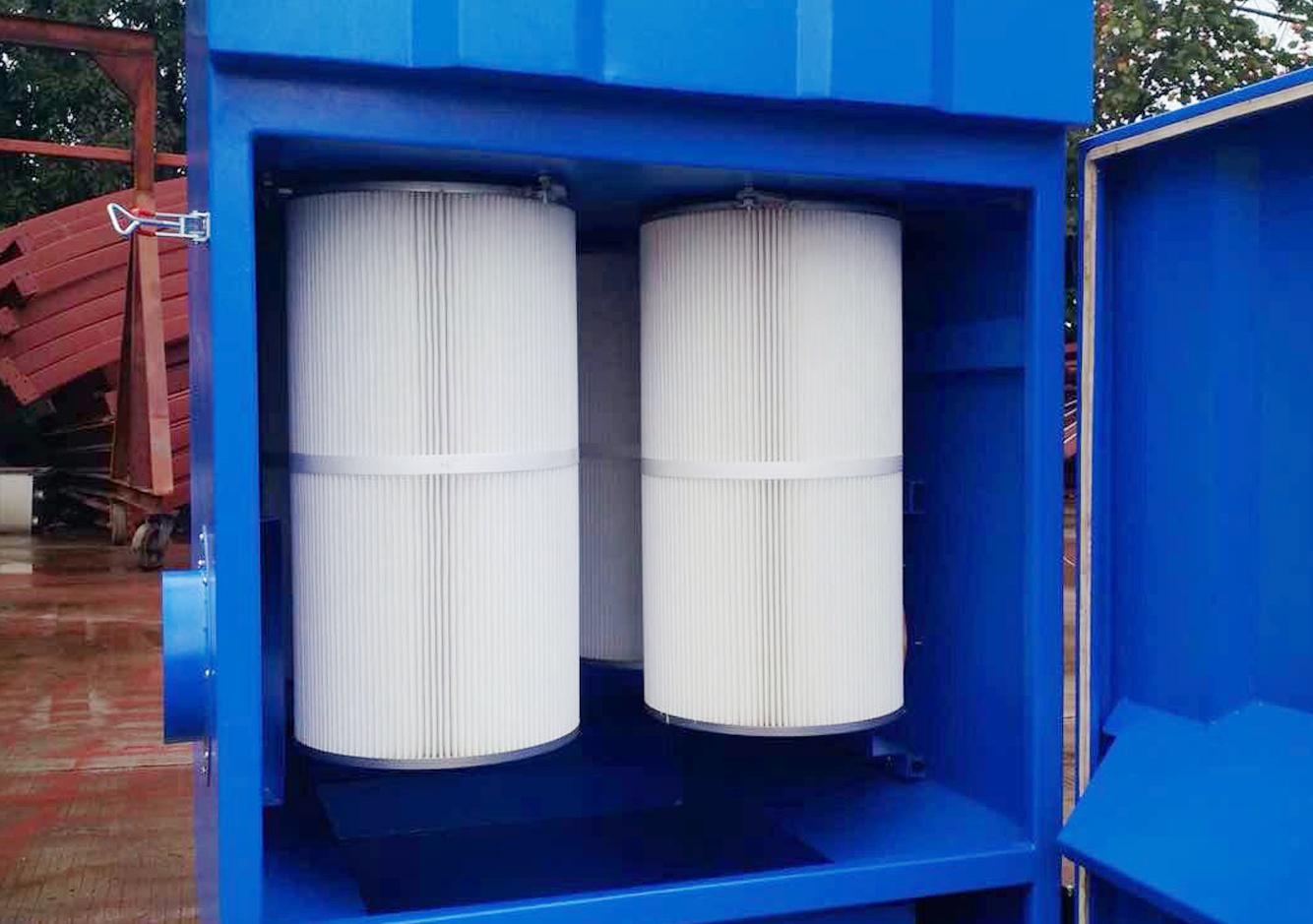 茶廠濾筒除塵器除塵