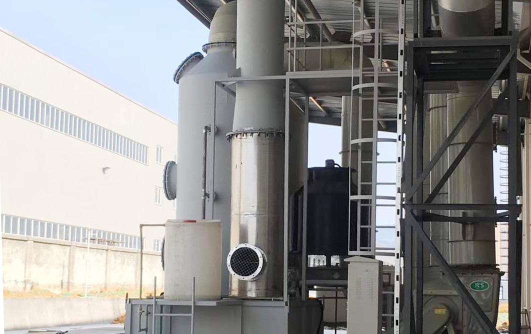 title='成都华夏建设天然气燃烧氮氧化物废气治理/处理项目/酸雾废气处理'