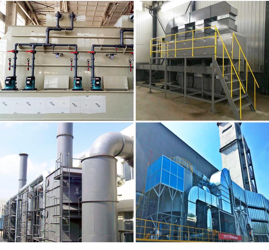rco催化燃烧废气处理设备,沸石转轮浓缩+rto/rco